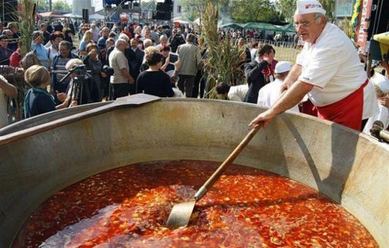 Фестиваль бограча в Косино